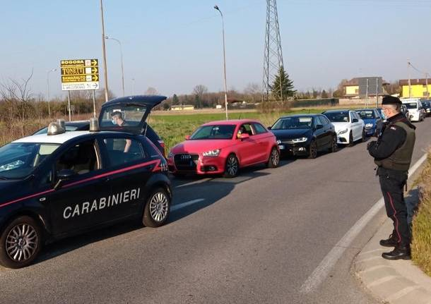 carabinieri controlli covid