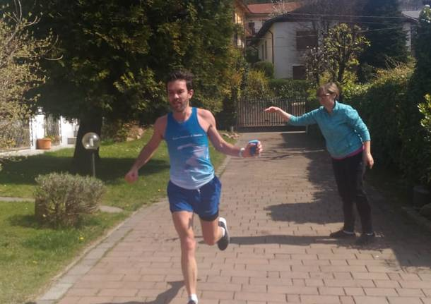 Maratona in giardino