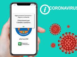 Coronavirus, app lombardia