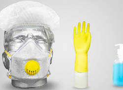 dispositivi protezione individuale mascherine guanti