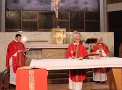 Domenica delle Palme: la celebrazione dalla Chiesa Sant'Alessandro di Caronno Pertusella