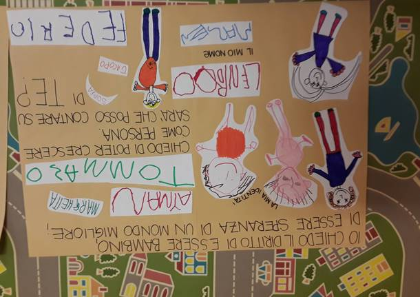 """I disegni degli alunni dell'Ada Negri: """"Andrà tutto bene"""""""