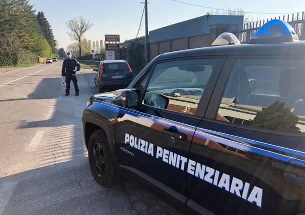I controlli sulle strade della Polizia Penitenziaria