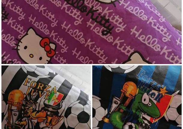 Letti Per Bambini Hello Kitty.Cislago Realizza Mascherine Colorate Per Bambini Donazioni