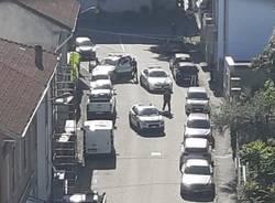 aggressione agente polizia locale Busto Arsizio