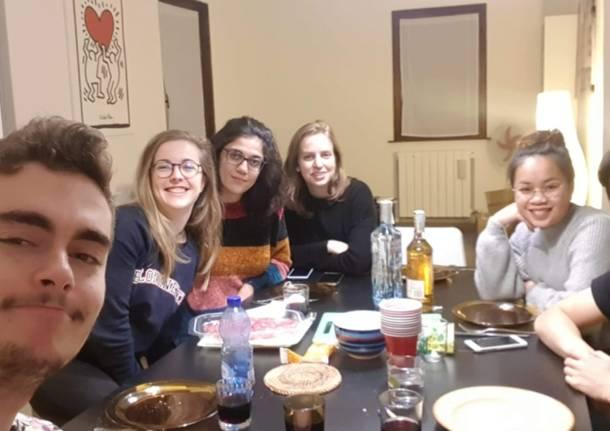 giovani stranieri a Varese per progetti di volontariato di CSV
