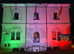 Il Comune di Buguggiate si veste di tricolore