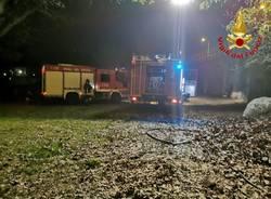 Incendio Laveno Mombello