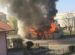 incendio lonate pozzolo