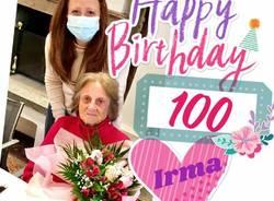 irma centenaria fagnano olona