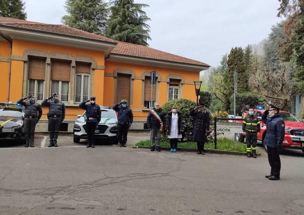 """Le forze dell'ordine in coro: """"Onore ai medici e al personale sanitario dell'ospedale di Saronno"""""""