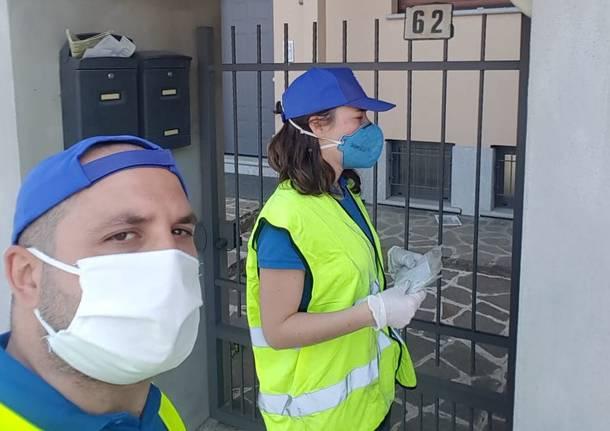 mascherine volontari solbiate olona
