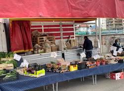 Mercato di Varese, riapertura Covid-19