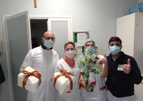 Ospedale di Saronno, arrivano le uova di Pasqua