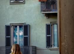 Saronno, immagini della città in quarantena (foto di Emanuele Santagostino)