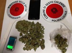 sequestro marijuana spaccio sesto calende aprile 2020