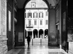 Varese, la città vuota durante la quarantena