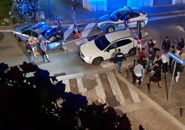 Atto violento in largo Seprio a Legnano