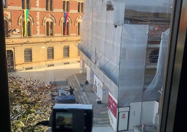 Basilica S.Magno: restauro esterno concluso