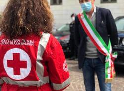 Il grazie di Busto alla Croce Rossa