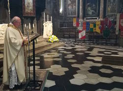 """La celebrazione \""""a porte chiuse\"""" di San Vittore"""
