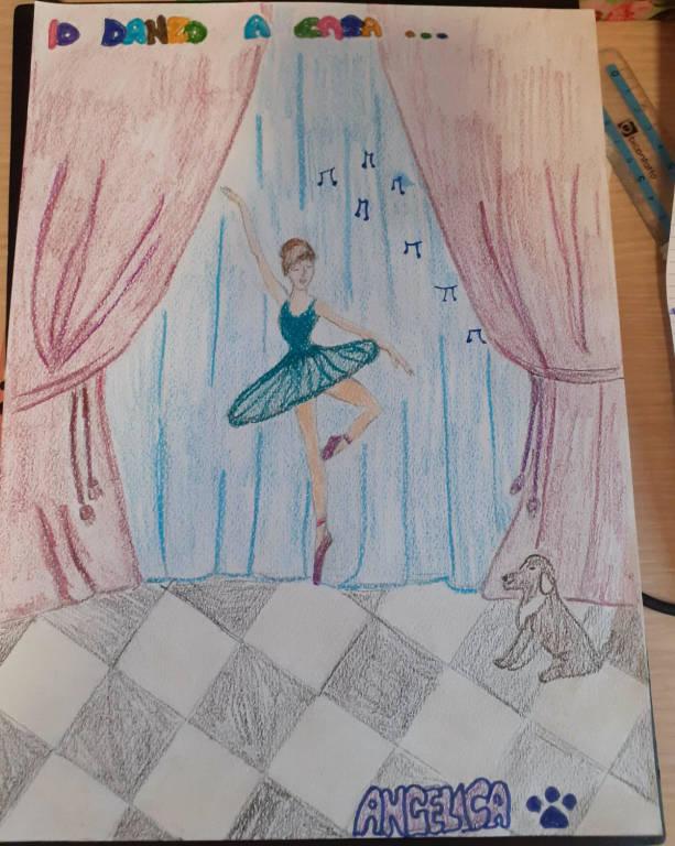#IoRestoACasa... e disegno la danza