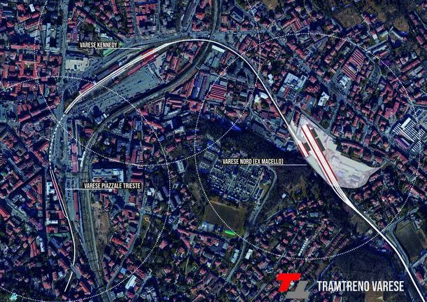 Il progetto TramTreno di Varese