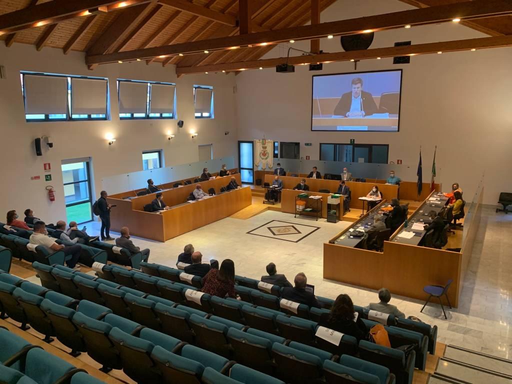 Consiglio comunale Gallarate periodo Covid