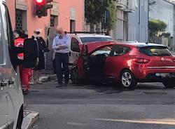 Croce Rossa incidente a Cerro Maggiore