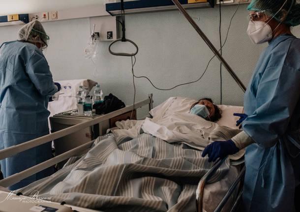 Il dolore, l'amore e la speranza: viaggio nel reparto Covid dell'Ospedale di  Cuasso