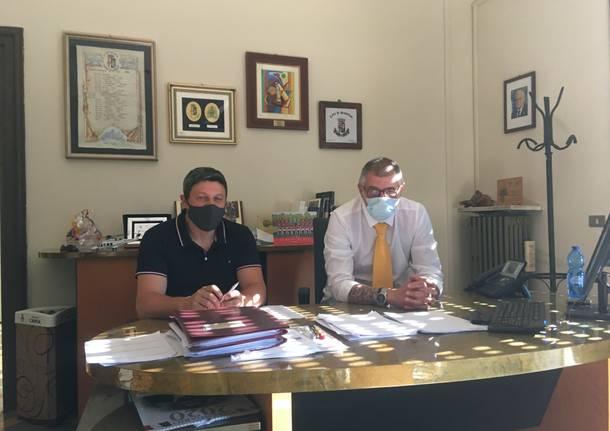 Enrico Puricelli e Leonardo Tarantino