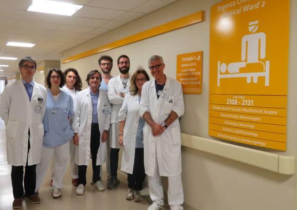 equipe neurochirurgia
