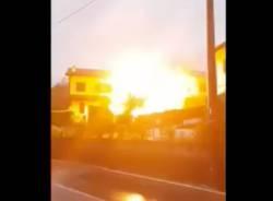 esplosione casa fino mornasco