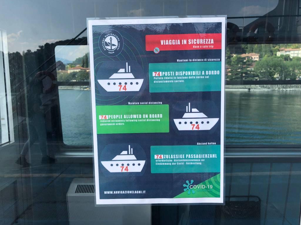 Fase 2: Viaggio in traghetto da Laveno Mombello a Intra