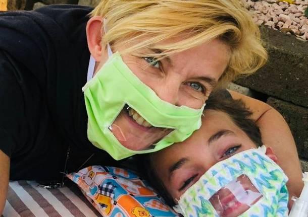 Federica Muller, mascherine del sorrisp