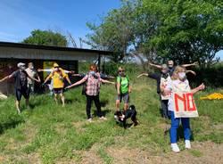 Flashmob per la giornata dei parchi di Legambiente