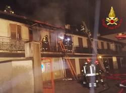 incendio venegono casa