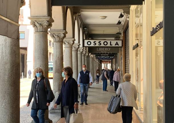 Il centro di Varese riapre