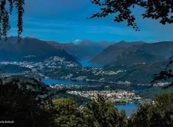Il Ceresio dal Monte Sette Termini - foto di Isella Bellotti