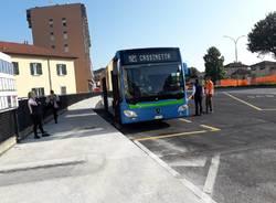 Il nuovo capolinea dei bus in viale milano