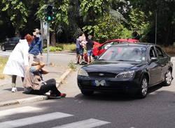Incidente in via XX Settembre Legnano