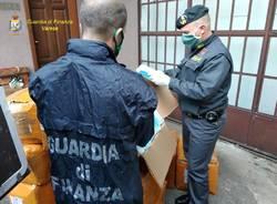 La Guardia di Finanza sequestra 72 mila mascherine non conformi