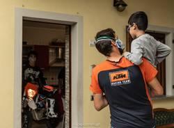 """La """"Mototerapia take away"""" di Vanni Oddera arriva anche a Casciago"""