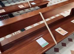 Le chiese di San Carlo e Giubiano si attrezzano per l'entrata dei primi fedeli
