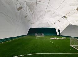 Limbiate, lavori in corso per il rinnovo del centro sportivo di via Tolstoj