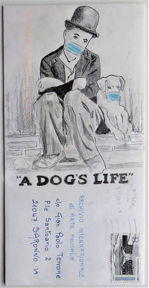 Mail art per raccontare la quarantena vissuta a Saronno