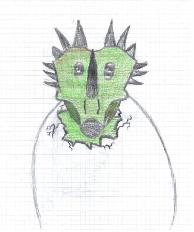 mascotte archeo della 1^E cuasso