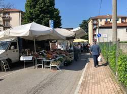 Mercato di Besozzo, seconda giornata dopo il lockdown