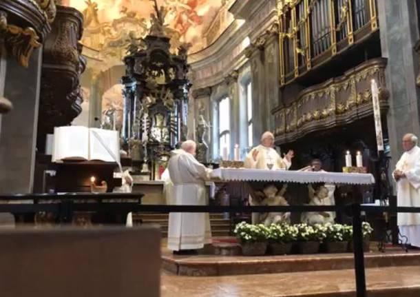 messa basilica san giovanni