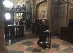 Monsignor Delpini in visita al Santuario di Saronno